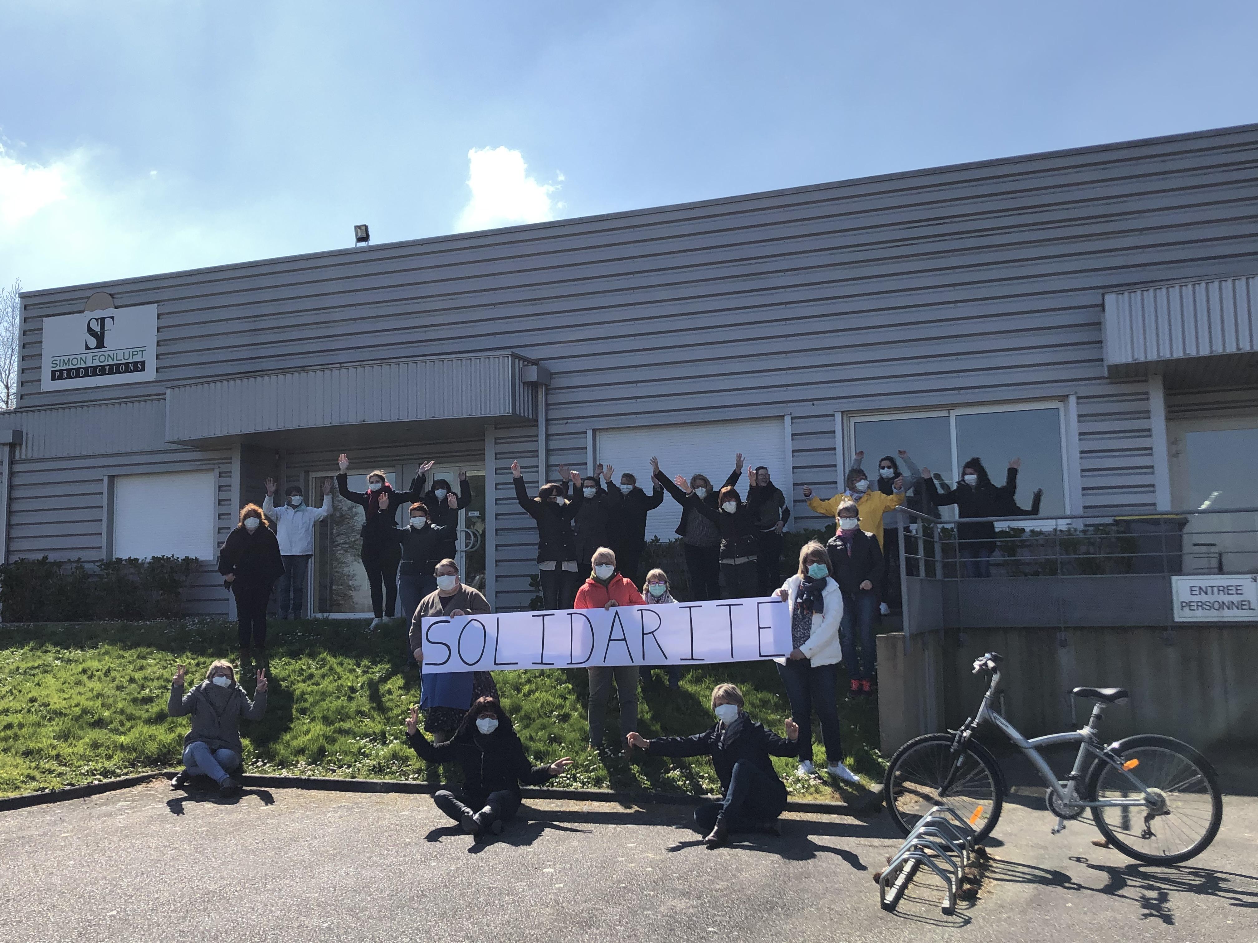 Les établissements Thierry solidaire face au COVID 19