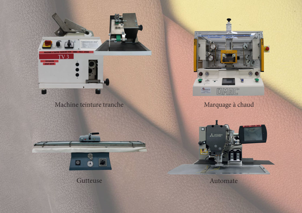 machine maroquinerie 1